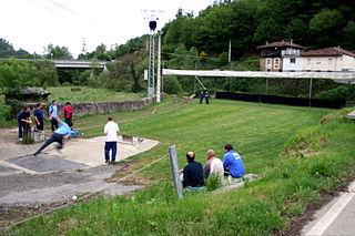 Basque bowls Basque variants of bowling games.