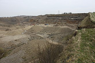 Bradford Dale (Yorkshire) - Bolton Woods Quarry