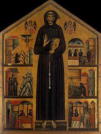 BERLINGHIERI, Bonaventura St Francis 1235