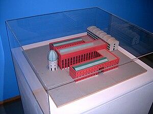Bonnefantenmuseum - Maquette Bonnefantenmuseum