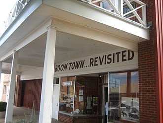 Borger, Texas - The Hutchinson County Historical Museum, also known as Boomtown Revisited, is located in downtown Borger.