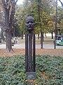 Borisav Bora Stanković, spomenik na Kalemegdanu u Beogradu.jpg