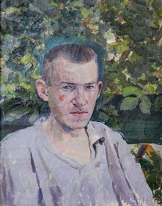 Victor Borisov-Musatov - Self-portrait