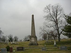 Paris Cemetery - Image: Bourbon County Confederate Monument 2