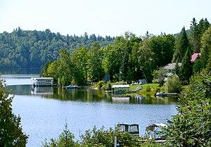 Bowman, Quebec - Reservoir l'Escalier