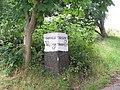 Bradfield Parish Marker Stone - 9 - Cockshutts Lane - Lumb Lane - geograph.org.uk - 901950.jpg