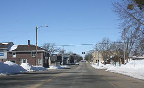 Brandon Wisconsin Downtown Looking West WIS49.jpg