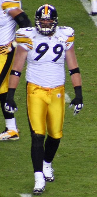 Brett Keisel - Brett Keisel during the 2009 season