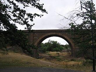 Riddells Creek - Image: Bridge Riddells Creek