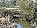 Bridge over Langley Brook, Middleton Lakes RSPB Reserve - geograph.org.uk - 1112245.jpg