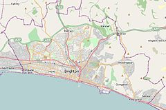 Chattri (Brighton) is located in Brighton & Hove