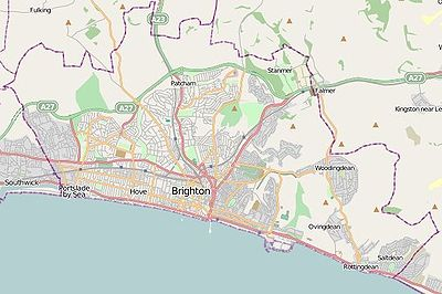 Map Of Brighton And Hove Module:Location map/data/United Kingdom Brighton and Hove   Wikipedia Map Of Brighton And Hove