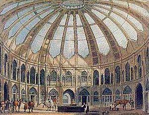 William Porden - Brighton Pavilion Riding School and Stables