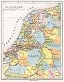 Brinkman Nederland Gouwverdeeling omstreeks de 10e eeuw 1890.jpg