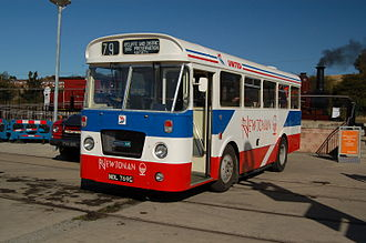 United Automobile Services - Preserved Bristol LH in October 2009