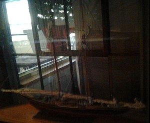 Britannia Yacht Club Model Ship.JPG