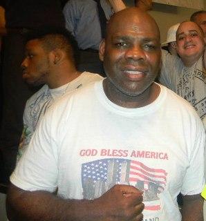 Iran Barkley American boxer