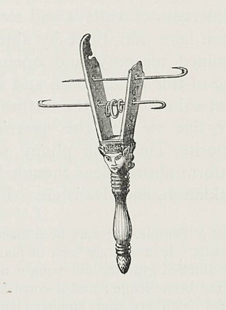 Music of Egypt - Image: Broken Sistrum (1890) TIMEA