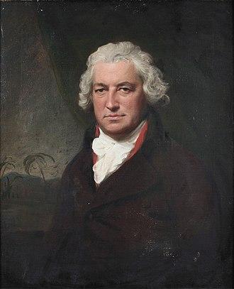 Bryan Edwards (politician) - Portrait by Lemuel Francis Abbott