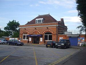Buckhurst Hill tube station - Station entrance