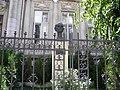 Bucuresti, Romania, Str. Batistei nr. 24A; Casa bancherului Hermann Speier; B-II-m-B-18096 (Statuia lui Corneliu Coposu) 9detaliu).JPG