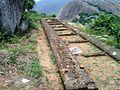 Buddhist vihara ruins at Gurubhaktulakonda in Ramatheertham.jpg