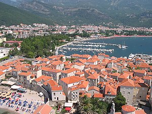 Budva - Panorama of Budva