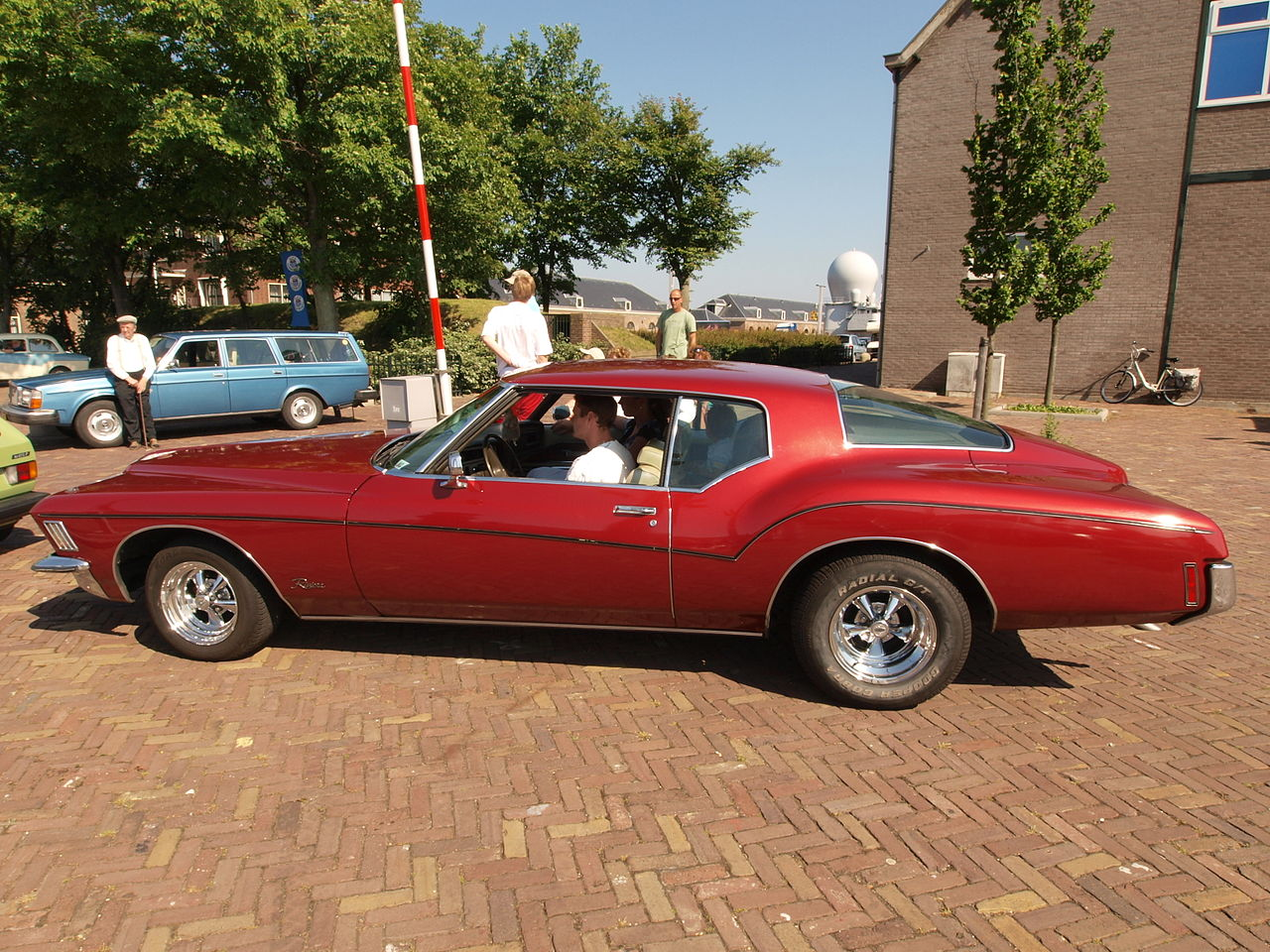 File Buick Riviera 1971 Dutch Licence Registration Ae