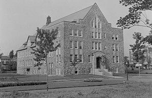 Collège Stanislas (Quebec) - Collège Stanislas in Outremont in 1942