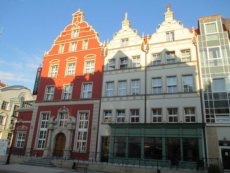 Buildings in Elblag