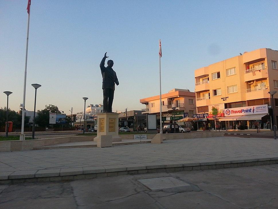 Bulent Ecevit Monument and Square North Nicosia