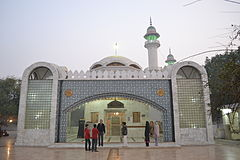 The shrine of the 17th century Sufi saint Bulleh Shah is located in central Kasur