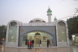 Bulleh Shah's Shrine.JPG