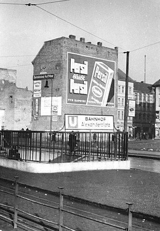 Henkel - Henkel mural in Berlin, 1951