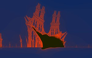 Burning Ship fractal - Image: Burning Ship 144x
