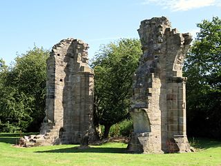 Burscough Priory Grade I listed priory in the United Kingdom