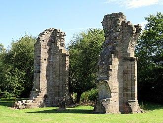 Burscough Priory - Ruins of Burscough Priory