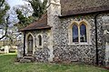 Bush End, Essex, England ~ St John Evangelist exterior ~ vestry door at north.jpg