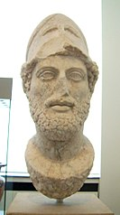 Pericles with the Corinthian helmet