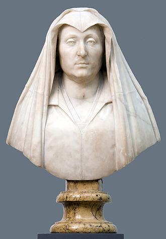 Bust of Camilla Barbadoni - Image: Buste af Camilla Barbadori. Moder til Pave Urban VIII Barberini