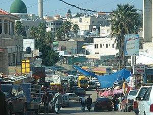 Barta'a - Image: Busy main street of Barta'a