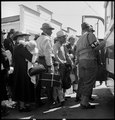Byron, California. The moment has come for these farm families of Japanese ancestry to board the bu . . . - NARA - 537463.tif