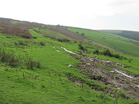Byway leading towards Mynydd y Gaer - geograph.org.uk - 2665449.jpg