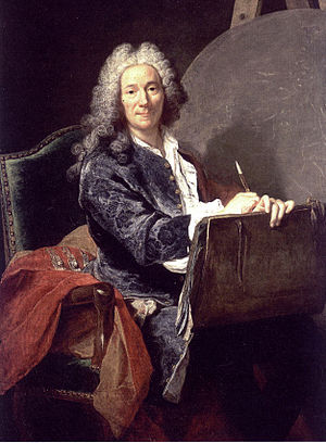 Pierre-Jacques Cazes - Portrait of Pierre-Jacques Cazes, by Joseph Aved.