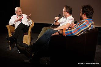 Cambridge Film Festival - Image: CFF2014 Q&A with Bill Lawrence