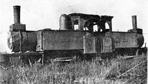 1876 in South Africa - CGR Fairlie 0-6-0+0-6-0