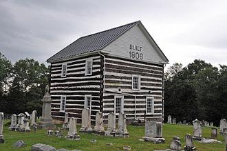 Chestnut Ridge and Schellsburg Union Church and Cemetery - Image: CHESTNUT RIDGE AND SCHELLSBURG UNION CHURCH AND CEMETERY