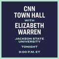 CNN Town Hall with Elizabeth Warren Jackson State University Tonight 9pm et.png