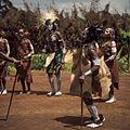 COLLECTIE TROPENMUSEUM Een dansvoorstelling van de Village Dancers TMnr 20038856.jpg