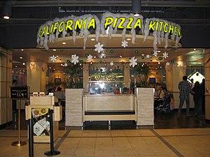 California Pizza Kitchen - The Ocean Terminal, Hong Kong location at Christmastime
